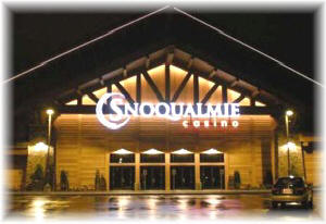 The famous Snoqualmie Casino is a very short drive from El Caporal - Fall City