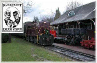 The historical Northwest Railway Museum only about 7 miles to El Caporal - Fall City